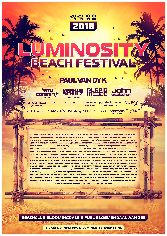 Luminosity Beach Festival 2018   Luminosity Events