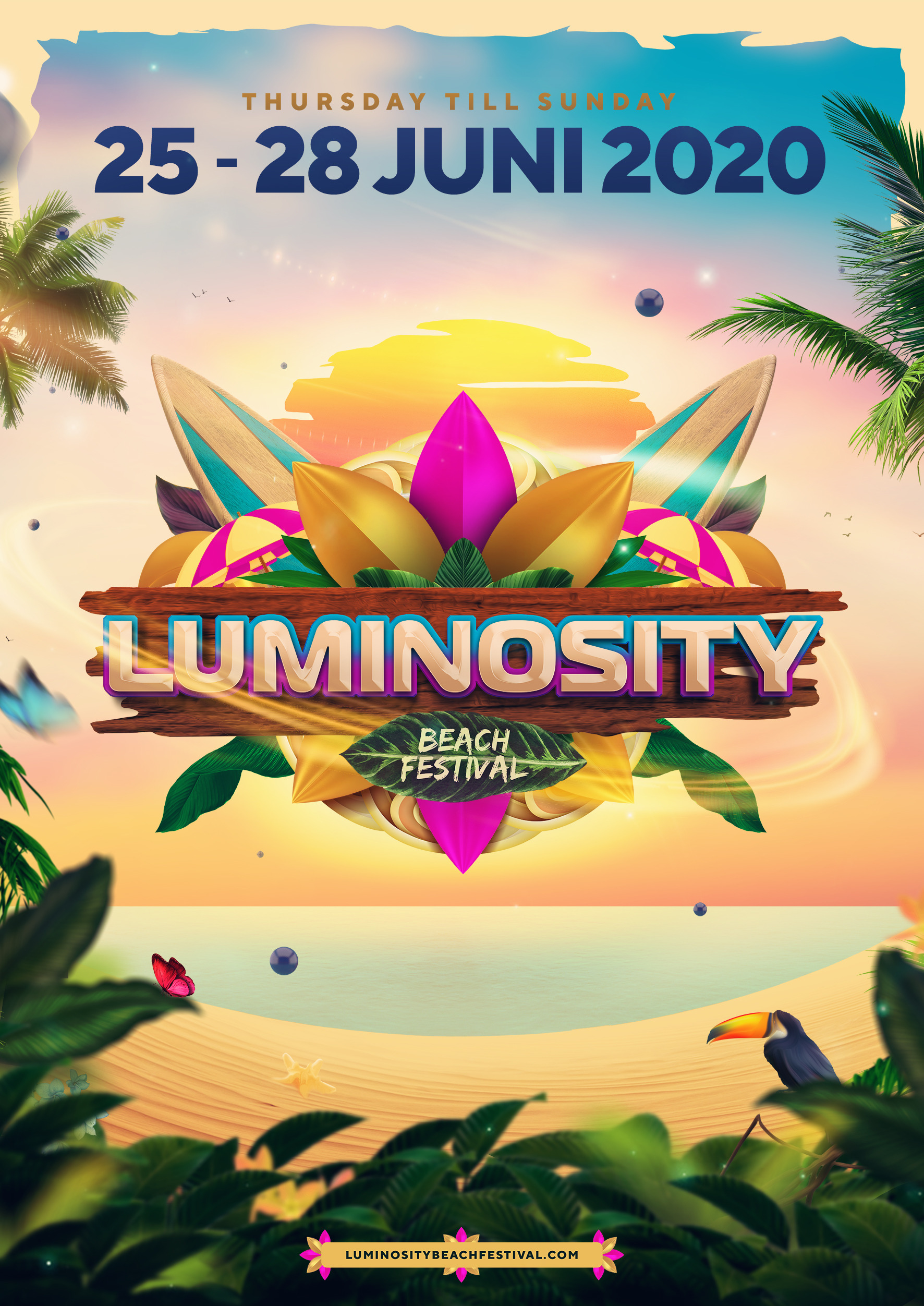 The Festival 2020.Luminosity Beach Festival 2020 Luminosity Events