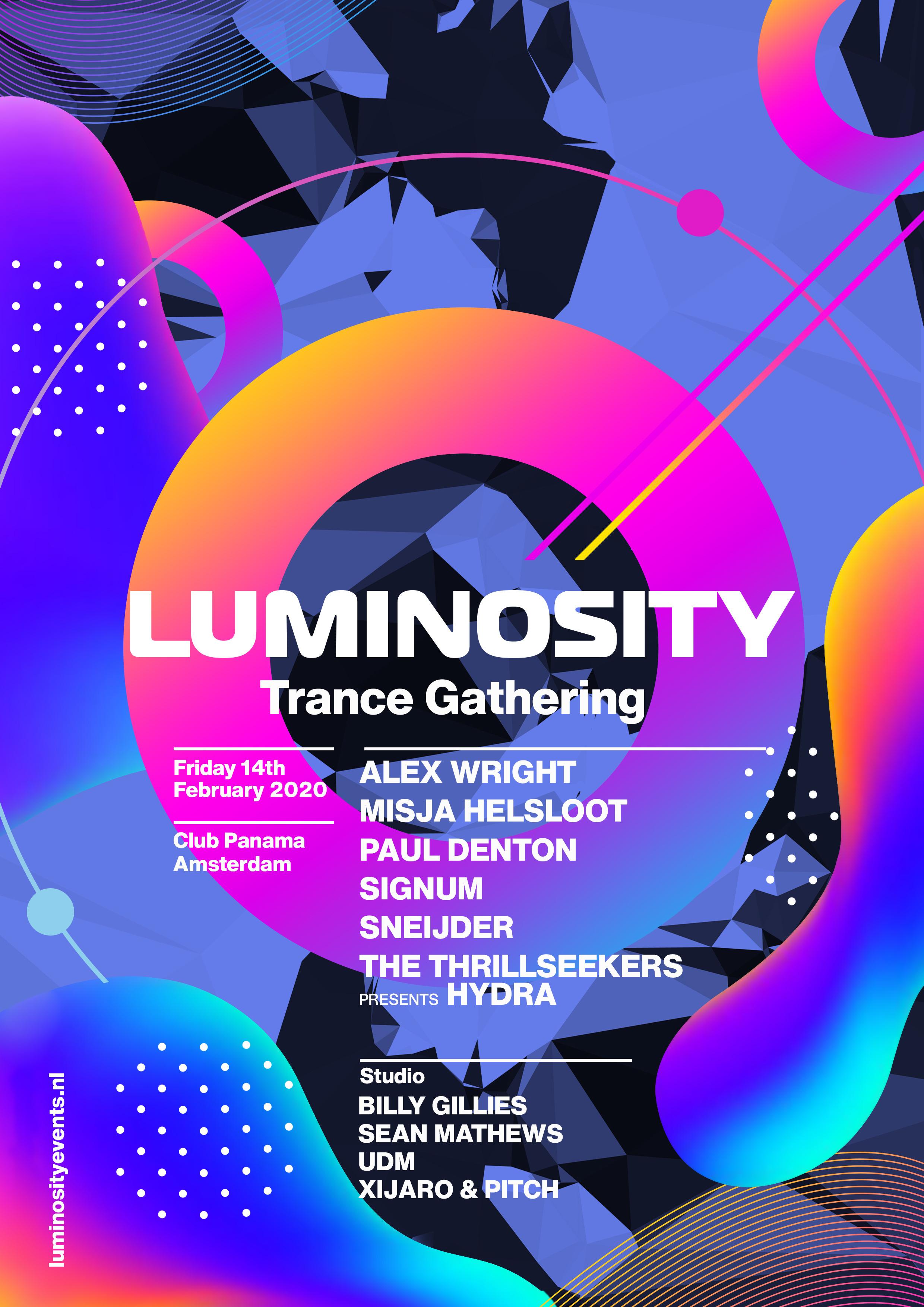 La Events February 2020.Luminosity Trance Gathering 2020 Luminosity Events